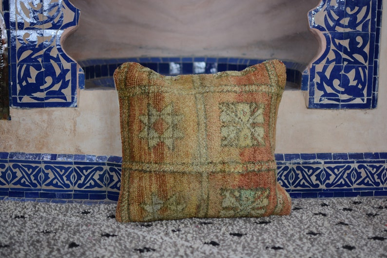 Nice wool Pillow Decorative pillow earth colors pillow image 0