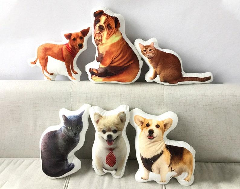 Custom Dog Pillow Christmas Gift Graduation Gift Comforting image 0