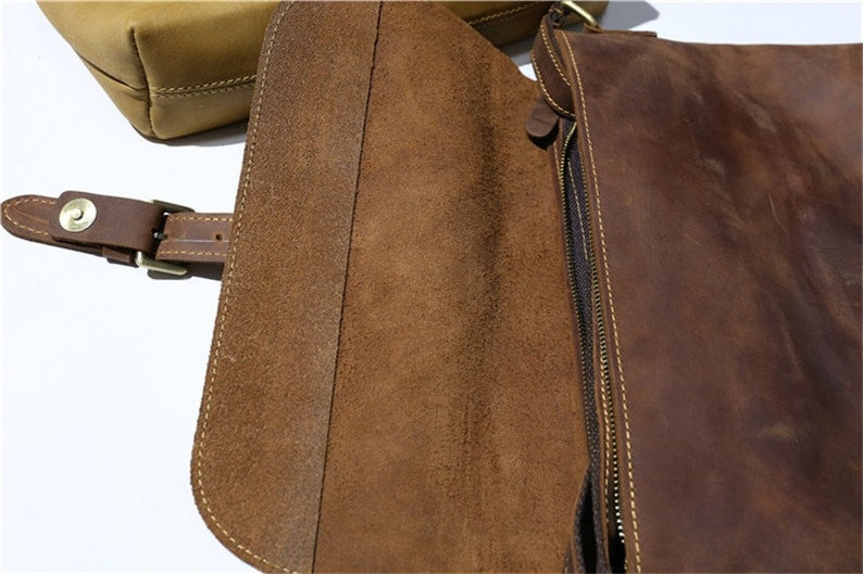 New Vintage Men Briefcase Best Favorite Cowhide Leather Office iPad Bag Tote Bag Fashion Business shoulder bag outdoor casual daily designer