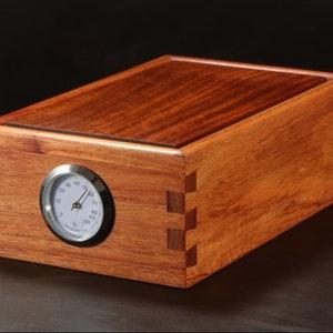 Jewelry Box Cedar Wood 6 Drawer Dresser Top Valet Cabin Country Farmhouse Decor Desk Storage Stash Box