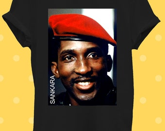 Thomas Sankara T Shirt Marxist Marxisim Burkina Faso Vintage Cool Gift Tee 177