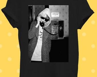 Debbie Harry T-shirt design Blondie-Unisexe-années 1980 Classique Musique Pop Icon