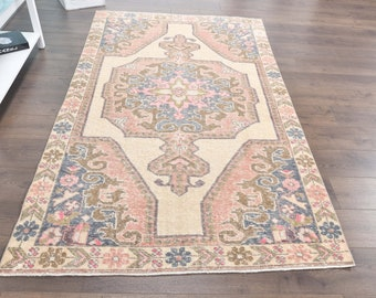 aztec rug area rug FREE SHIPPING 5.4 x 7.1 ft tribal rug ethnic rug,handmade rug,oriental rug MFK463 decorative vintage rug turkish rug