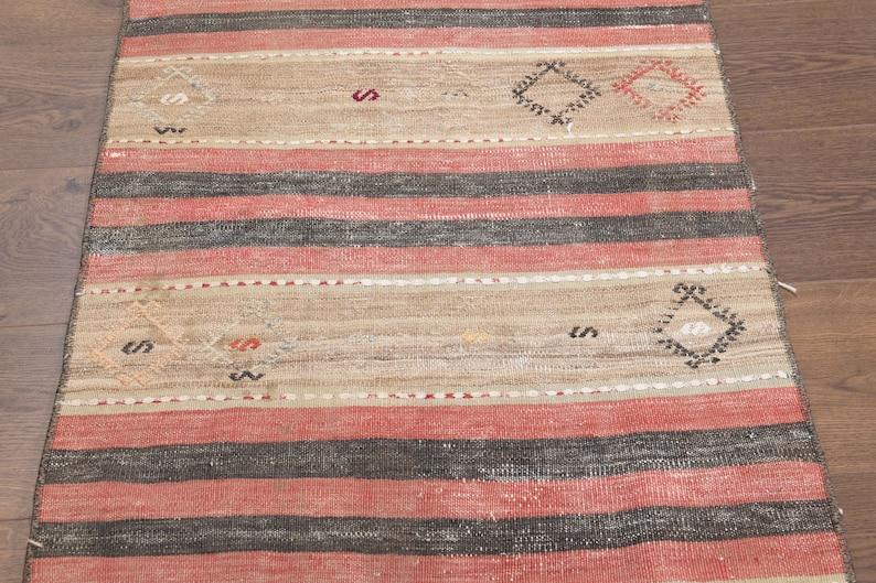 Colorful Rug Farmhouse Rug Tribal Rug TURKISH KILIM RUG Rugs Interior Designer Wool Rug Doormat 2/'1x3/'9 ft Handmade Rug Nature Rug