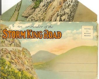 Vintage Postcard Folder: Storm King Road [ New York State ]