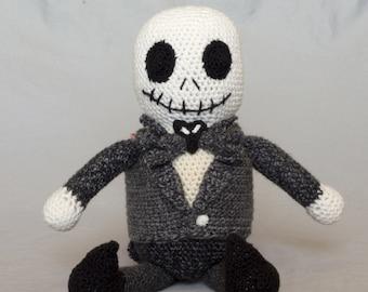 Crochet pattern digital PDF - Nightmare Before Christmas - Jack, Amigurumi DIY Craft Kit