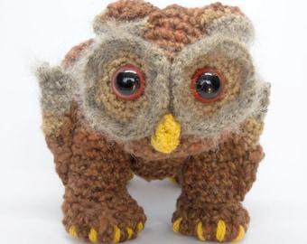 Amigurumi DIY Craft Kit - Dungeon & Dragons - Owl Bear, Crochet pattern digital PDF