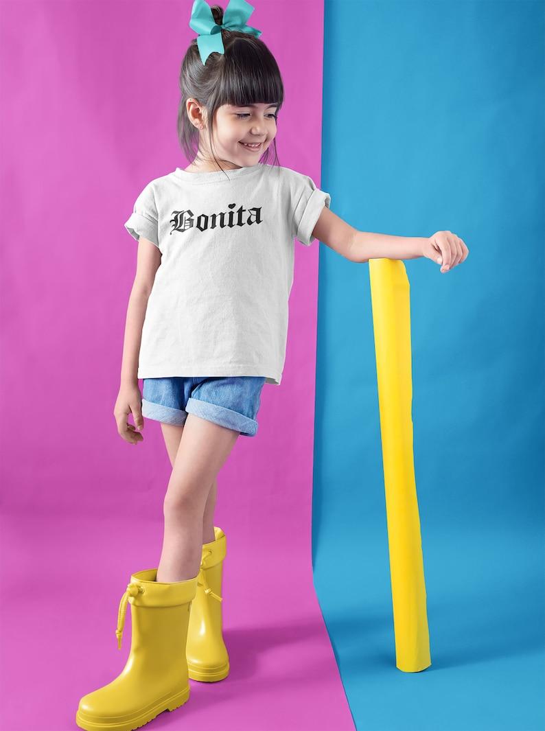 latina Gift mexican gift Chingona Chica Bonita shirt,Kids Latina Shirt Bonita tee,Bonita T Shirt,Mexican Shirt,Mexico Shirt Texas Gift