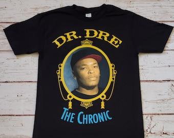 Dr Dre The Chronic Mens T Shirt S-XL Fashion Retro Music Hip Hop Snoop Kendrick