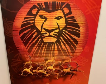 Lion King Musical Etsy