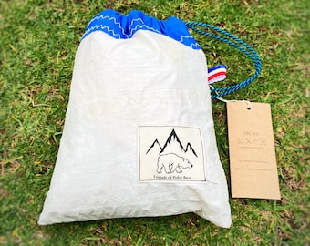 Eco friendly SBC first aid kit - made from old sail
