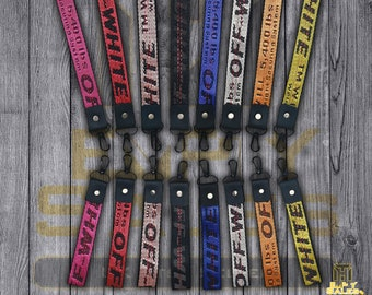 Off-White Industrial Designer Lanyard & Keychain (Available in 8 Different Colours)