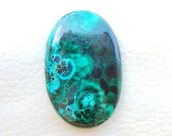 Chrysocolla Pear Cabochon-Chrysocolla Cabochon-Azurite Malachite-Healing Crystal And stones-Chrysocolla-Chrysocolla loose Gemstone S84