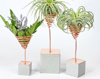 HHTHH Air Plant Hand Holder 2Pcs Cute Little Hands Made of Ceramic Tillandsia Holder Air Plant Stand Pot Tabletop Display Home Office Decoration Supplies Gifts Party Favors red//Yellow
