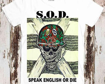 Stormtroopers of Death Patch Thrash Metal Hardcore Punk Music Band S.O.D