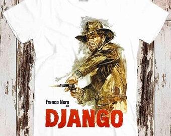 Django Film T Shirt Cult Western Franco Nero Unchained Tarantino Wild Bunch X063