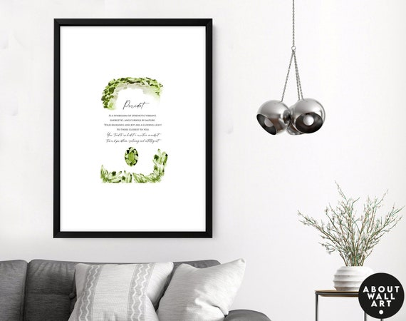 December Birthday Gift Art Print for best friend, Turquoise Birthstone Gifts, December Birthstone Crystals, Sagittarius Capricorn Birthstone