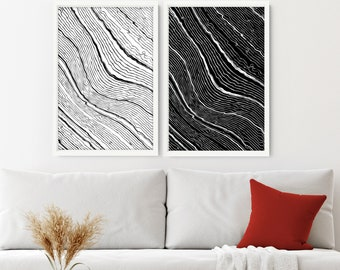 Wall hanging Set of 2 Prints, Home Decor, office decor, Wall decor Living room, above bed decor, print wall art, Bedroom wall art, New Home