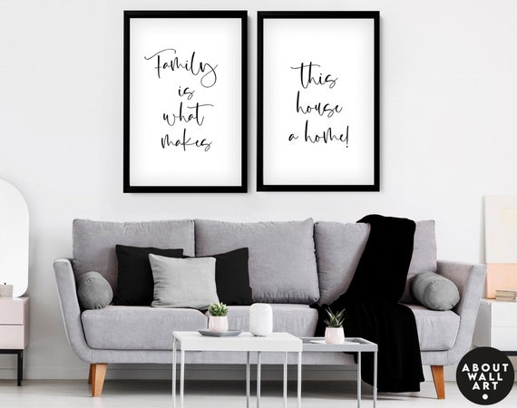 Personalized gifts for mom Set of 2, Mothers Day Gift Ideas, Gift For Mum, Mother Day Uk Gift, Custom Family Print, Family Gift