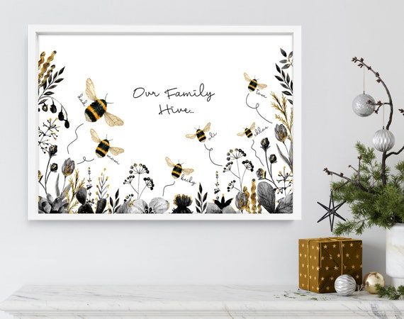 Cute custom christmas gift ideas mom and dad, personalised holiday family christmas tree, Sentimental christmas presents for mother in law