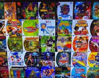 Sega Dreamcast, Sega CD Games - NO ART - Repro - 5 Dollars Per Disc