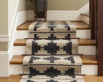 Stair runner, custom stair carpet rug runners for hallway, extremely long runner rug,