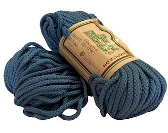 Denim 6mm / 50yd Vintage Braided Cord