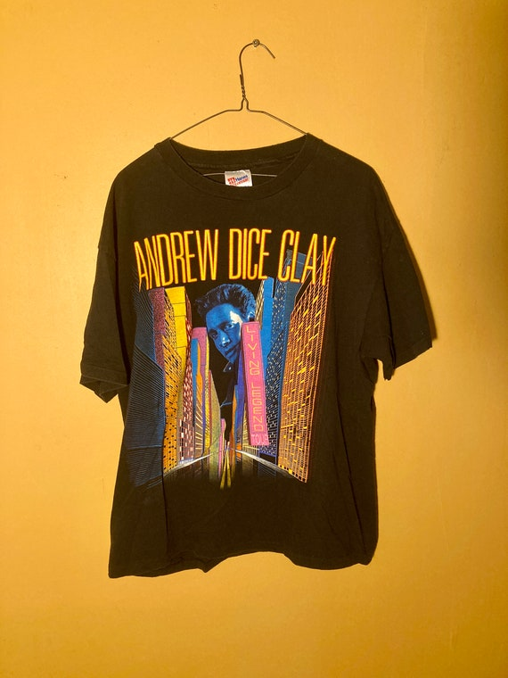 vintage 1991 Andrew Dice Clay tour shirt