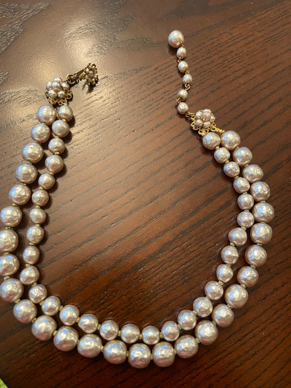 Miriam Haskell Pearl Choker