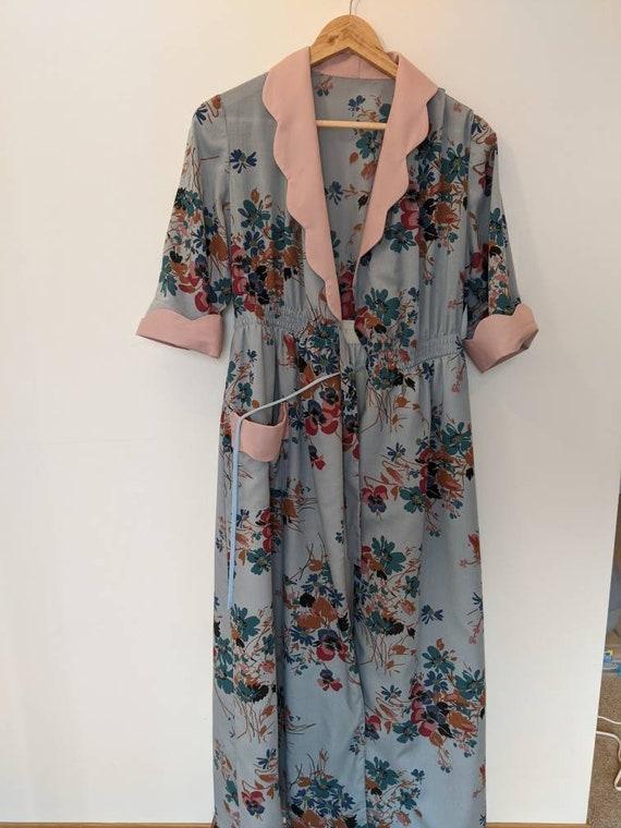 Handmade Floral Housecoat