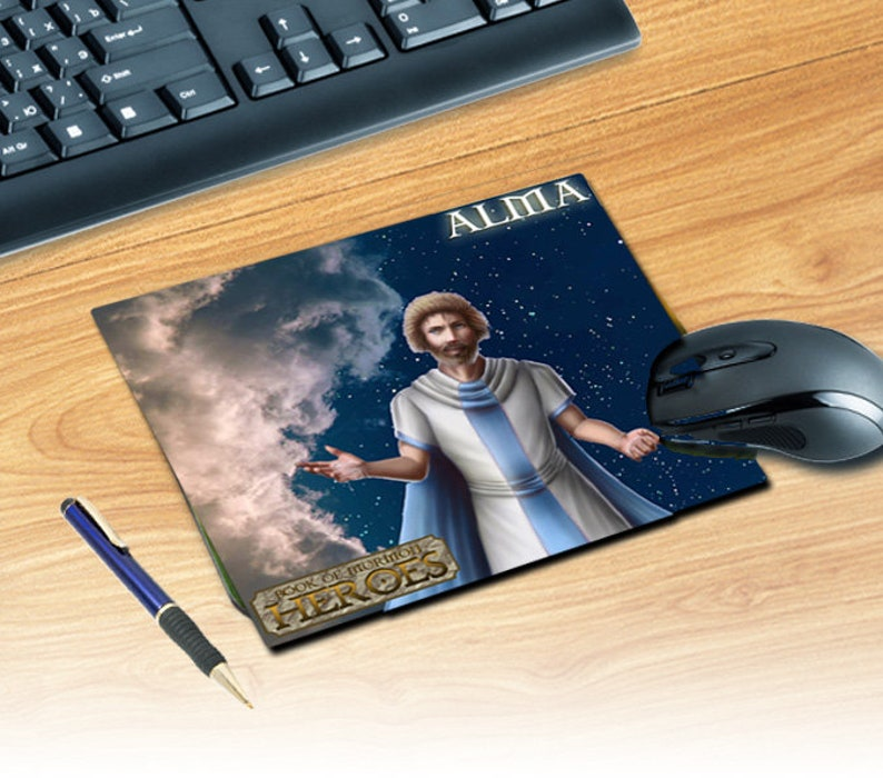 Book of Mormon Heroes Mouse Pad image 1