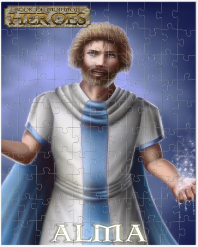 Book of Mormon Heroes Puzzle Alma