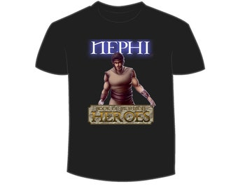 Book of Mormon Heroes Nephi T-Shirt