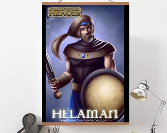 "Book of Mormon Heroes Helaman 24"" x 36"" Poster"