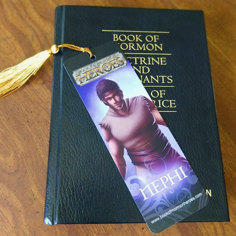 Book of Mormon Heroes Nephi Bookmark image 0