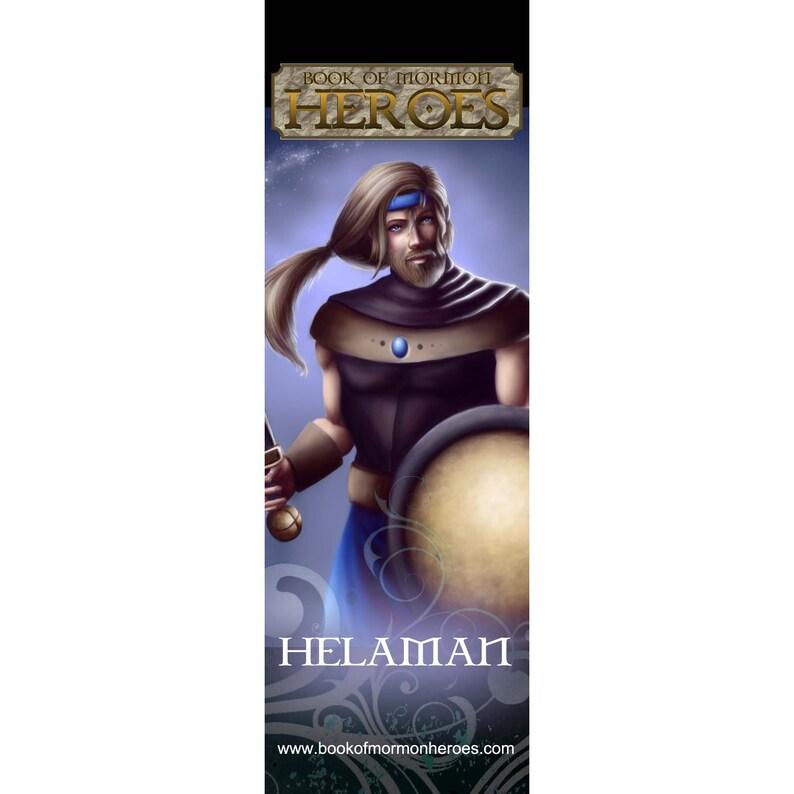 Book of Mormon Heroes Helaman Bookmark image 0