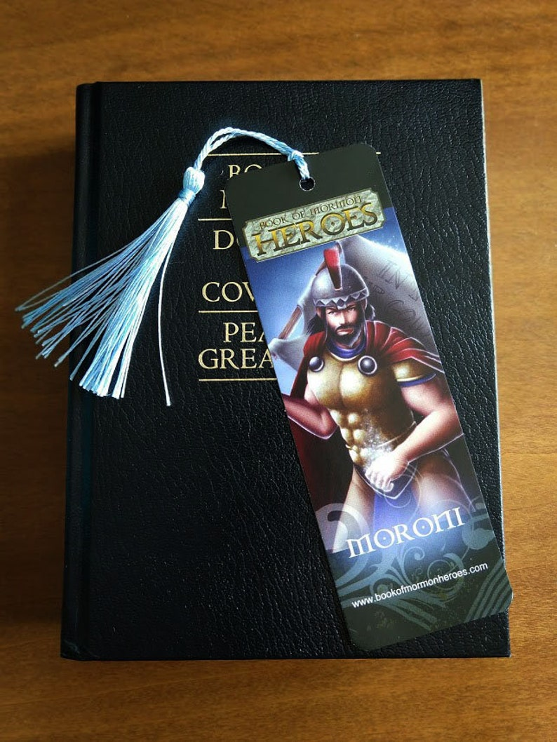 Book of Mormon Heroes Captain Moroni Bookmark image 0