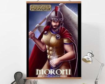 "Book of Mormon Heroes Captain Moroni 24"" x 36"" Poster"