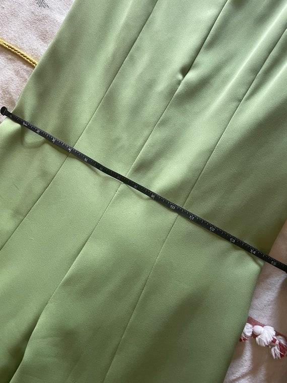 1970s mint green jumpsuit - image 7