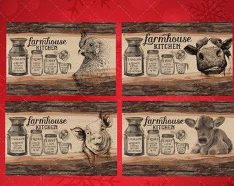 Christmas png, Cutting board png, ,  farmhouse cutting board design, rustic png. Farmhouse digital, digital download, cutting board design