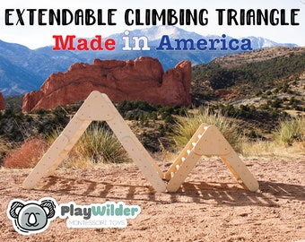Extendable Climbing Triangle - The PlayWilder Triangle