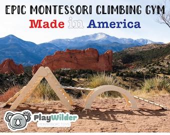 The Montessori Arch Climbing Gym - 3 or 4 Pieces