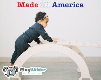PlayWilder Climbing Arch / Rocker