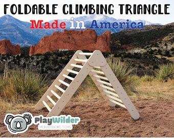 Large Foldable PlayWilder Triangle - The PlayWilder Folding Triangle