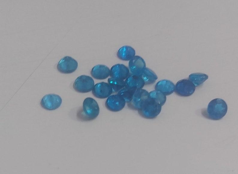 Cabochon apatite beads 10 Pieces Neon apatite gemstone Round shape neon apatite round shape apatite Size 9x9 mm handmade apatite