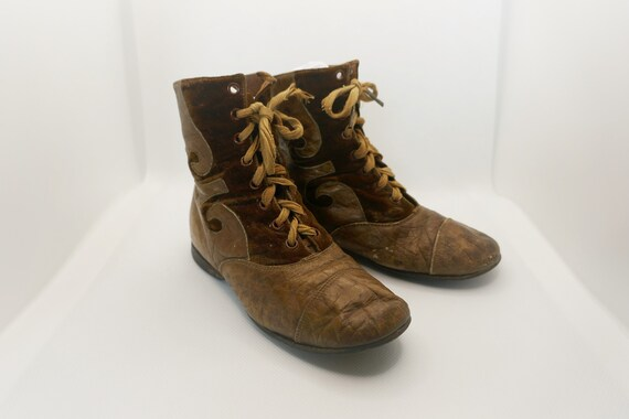 Antique Child's Laced Boots
