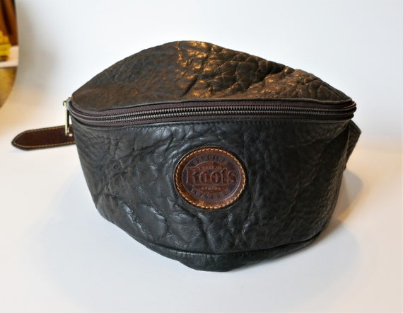 Large Roots Leather Fanny Pack