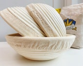 10 quot Round Banneton Proofing Basket and Quality Handmade Bread Lame (Option)