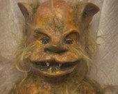 Scary baby doll werewolf Baby made to order/ two different versions in the pictures