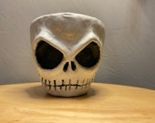 Jack | this pumpkin king is Hand made to order, unique sculpture on a Terra-cotta planter | 11cm or 17cm planter